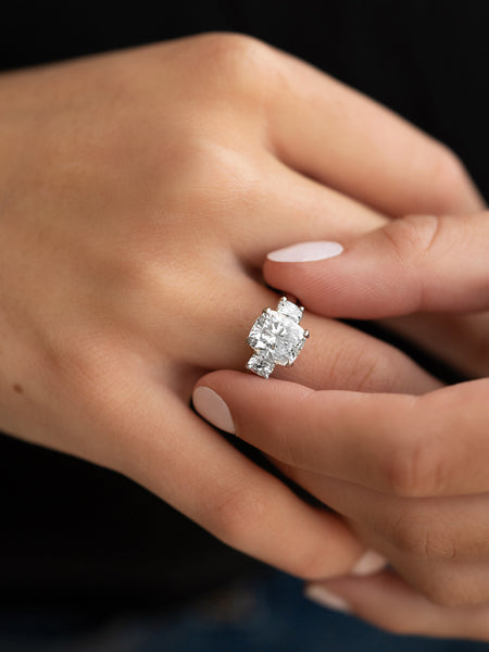 Popular Cushion Cut Engagement Rings