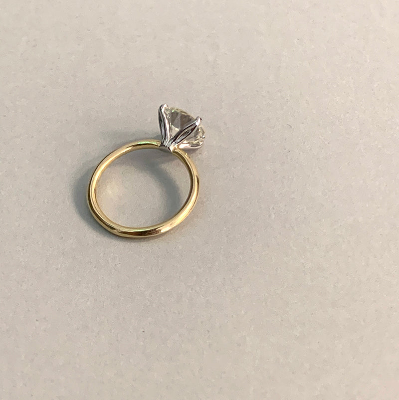 2.75 ct. Old European Cut Solitaire