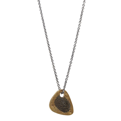 John Varvatos - Guitar Pick Necklace