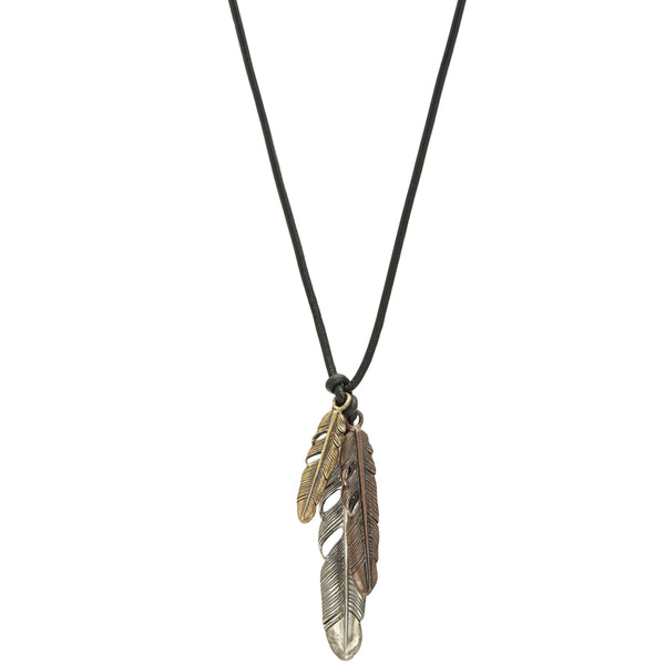 John Varvatos - Feather Necklace