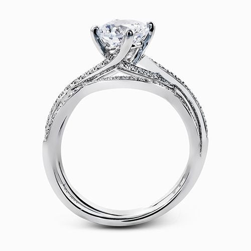 Simon G. Diamond Engagement Ring