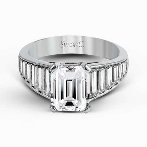 Simon G Engagement Ring