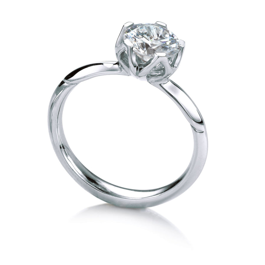 MaeVona Bluebell Solitaire Ring