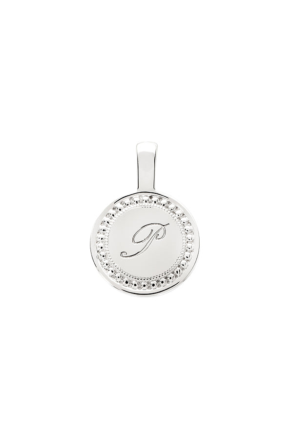Personalize Small Round Charm