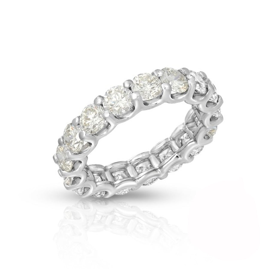 U-Prong Diamond Eternity Ring