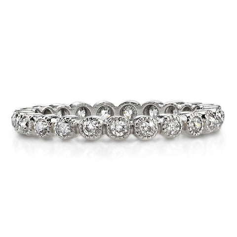 Handmade Diamond Band, Gabby, designed by Single Stone