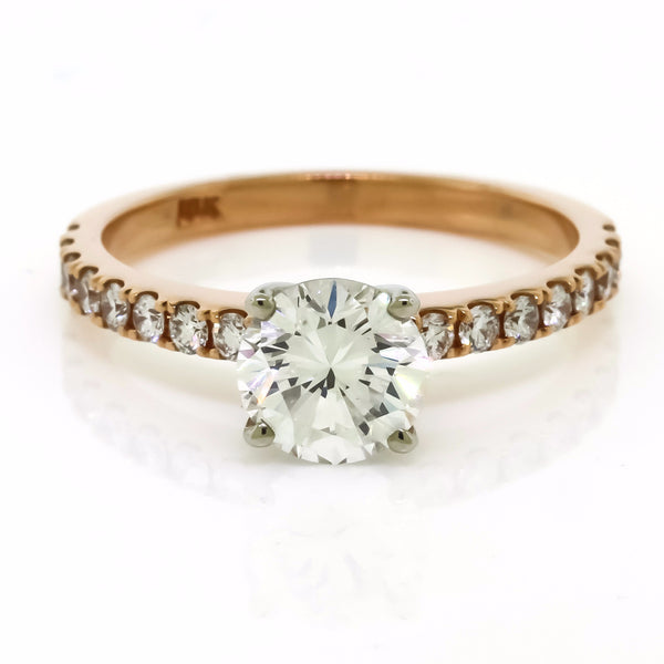 Classic Micro-Prong Engagement Ring