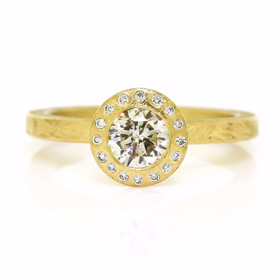 Todd Reed Yellow Gold Diamond Ring