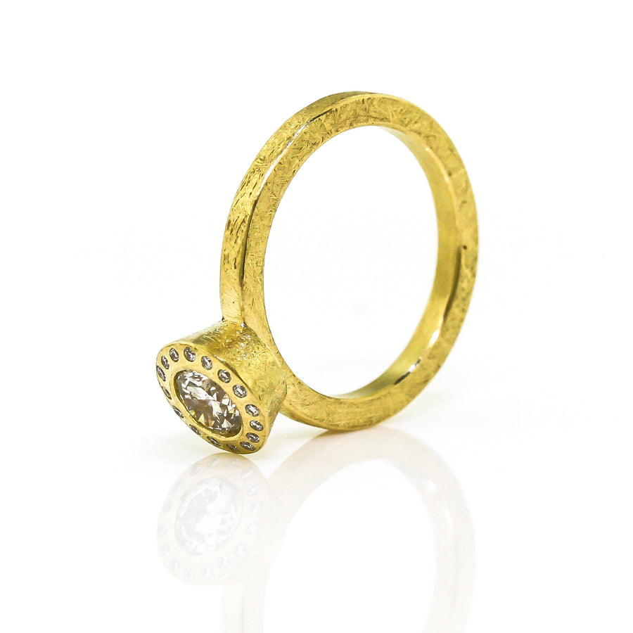 Todd Reed Round Brilliant Diamond Ring