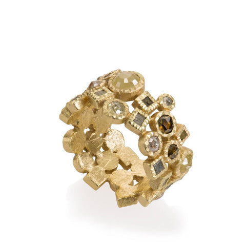 Todd Reed Rough Diamond Ring - TRDR604