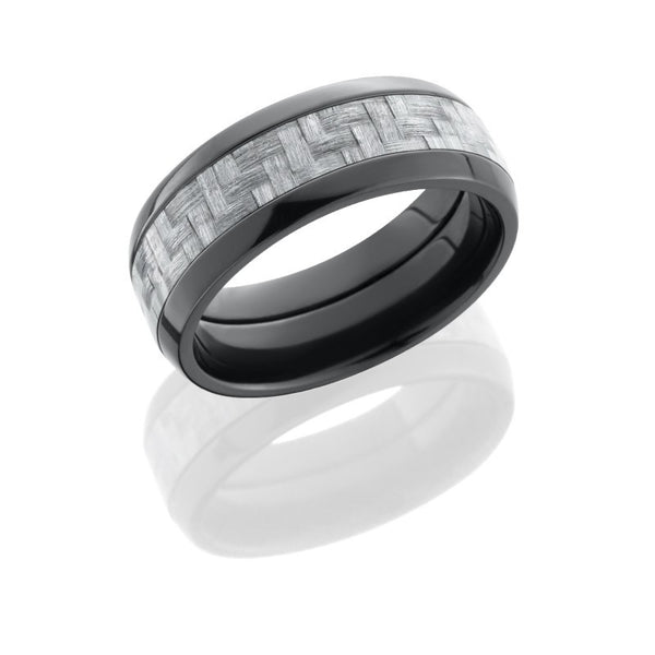 Carbon Fiber Mens Wedding Band
