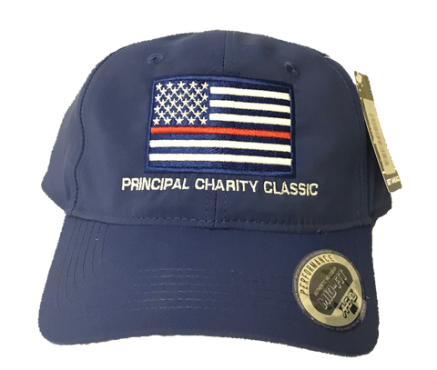 Principal Charity Classic American flag hat (royal blue)