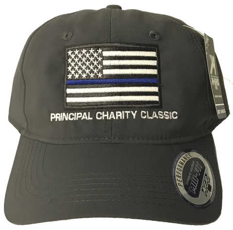 Principal Charity Classic American flag hat (dark grey)