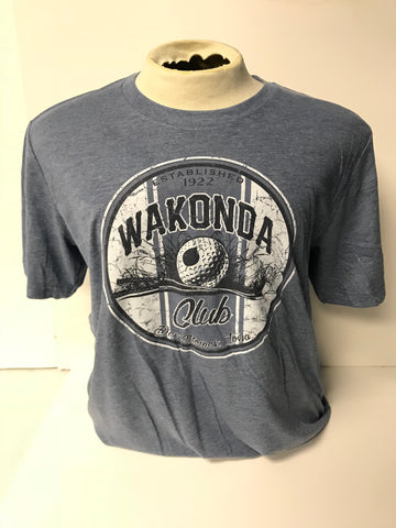 Ahead men's t-shirt featuring Wakonda Club