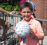 Inflatable, oversize rubber golf ball (a kid favorite!)