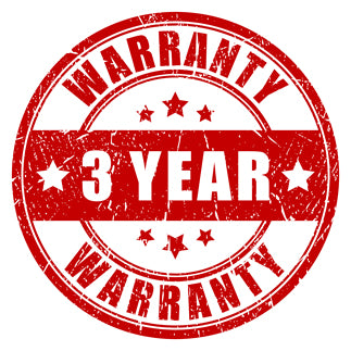Three year warranty on all hog and predator hunting flashlights