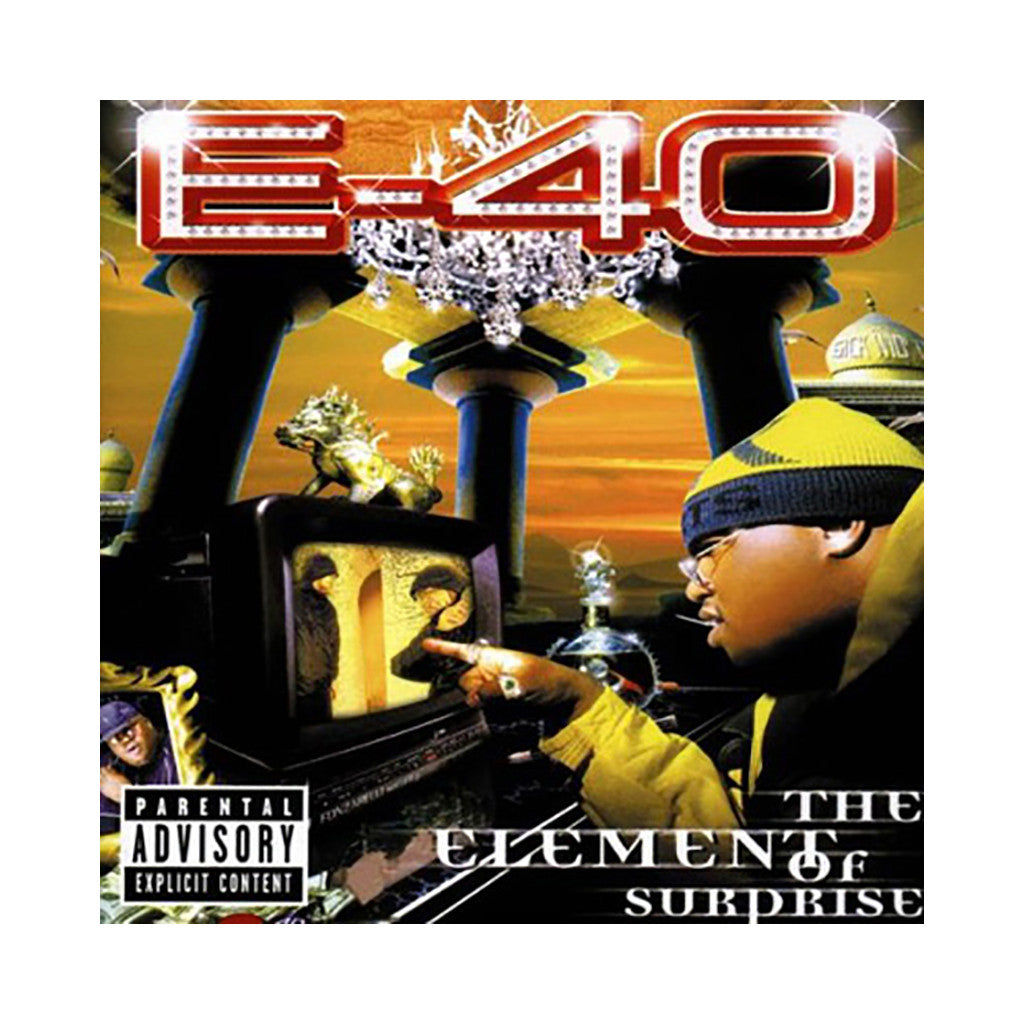 E-40 - 'The Element Of Surprise' [CD]