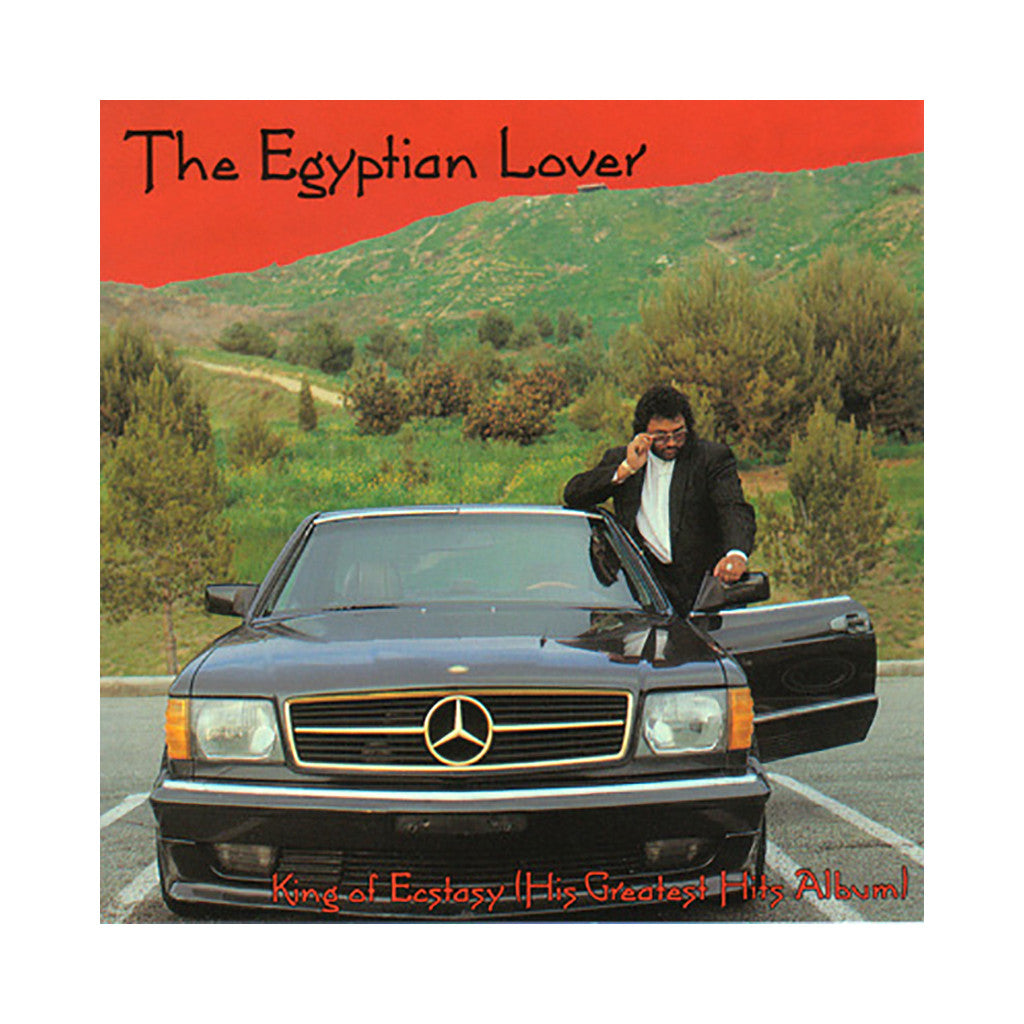 The Egyptian Lover - 'King Of Ecstasy (His Greatest Hits Album)' [CD]