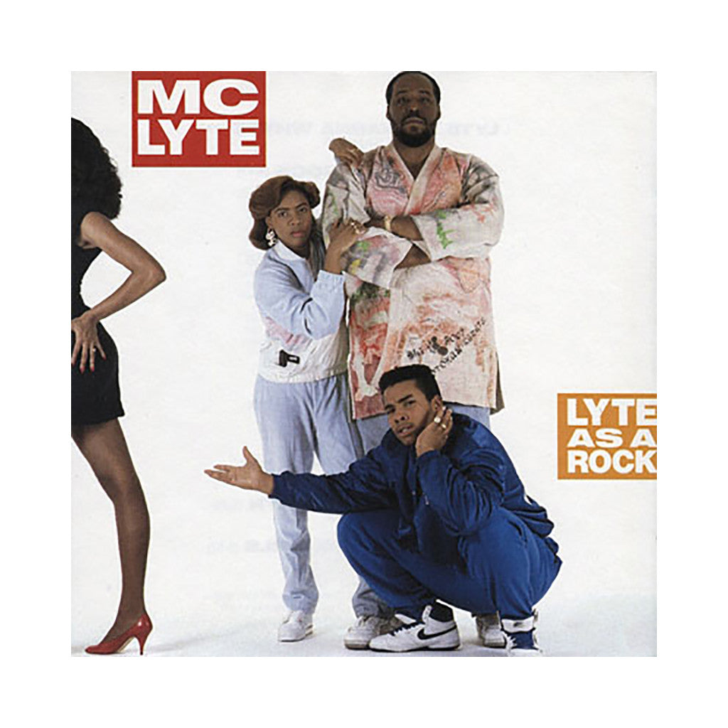 <!--119880614002224-->MC Lyte - 'Lyte As A Rock' [CD]