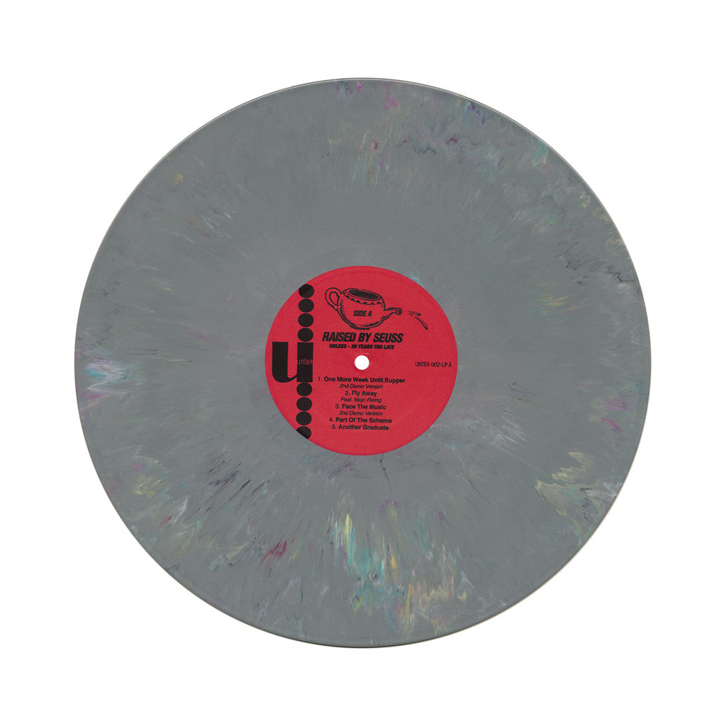 Raised By Seuss - 'Unless: 20 Years Too Late' [(Gray Marble) Vinyl LP]