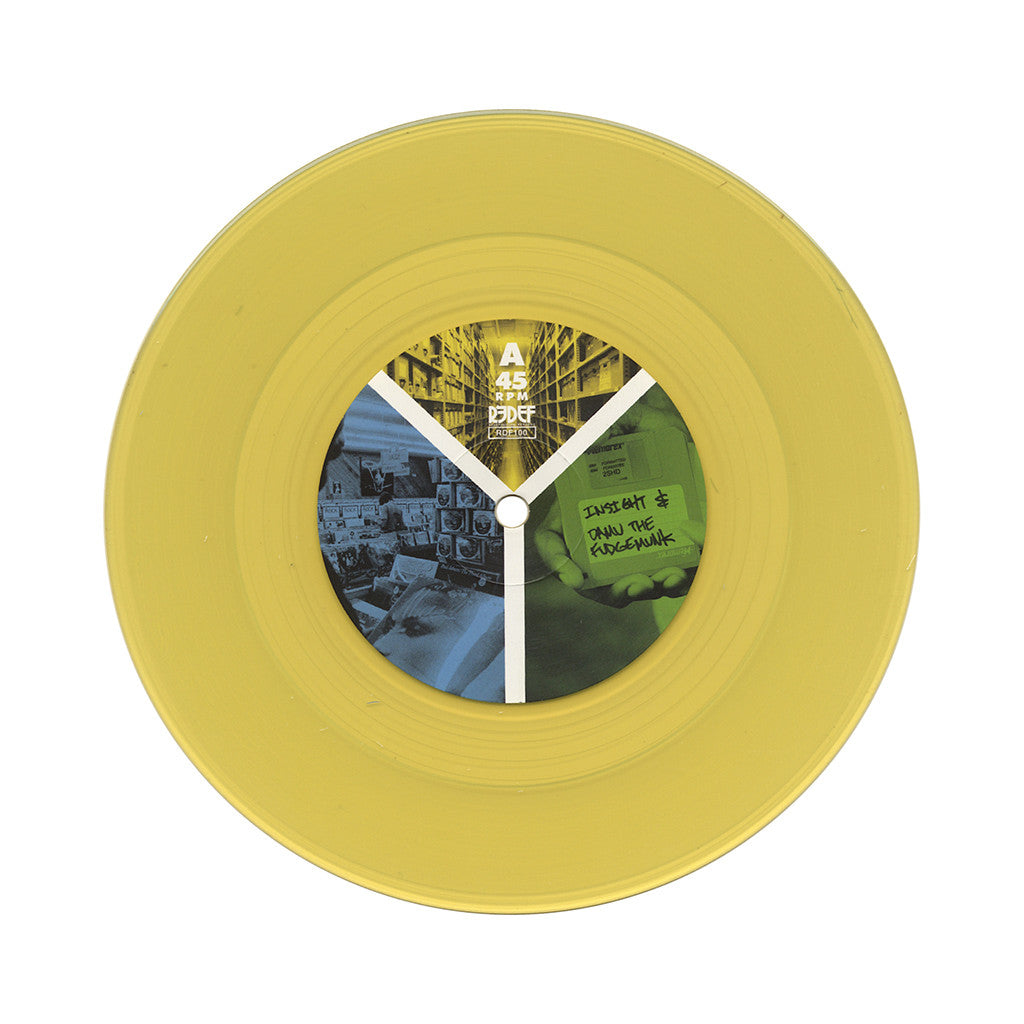 "Y Society - 'Know The Meaning/ Rather Unique 2' [(Yellow) 7"" Vinyl Single]"