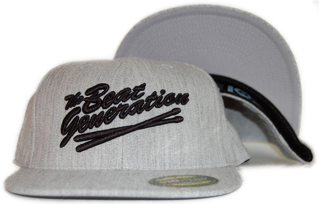<!--2011101808-->101 Apparel - 'Beat Generation' [(Light Gray) Flexfit Hat]