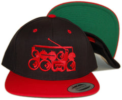 <!--020130219054068-->101 Apparel - 'Boogie Down - Red' [(Black) Snap Back Hat]