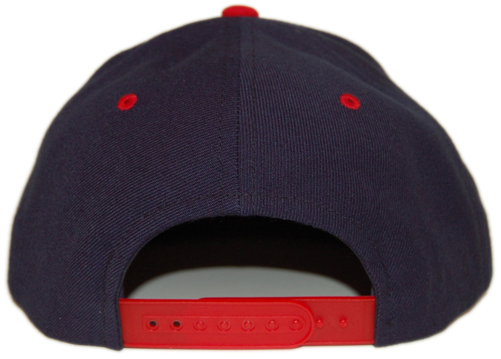 <!--2013021934-->101 Apparel - 'Boogie Down - Red' [(Dark Blue) Snap Back Hat]