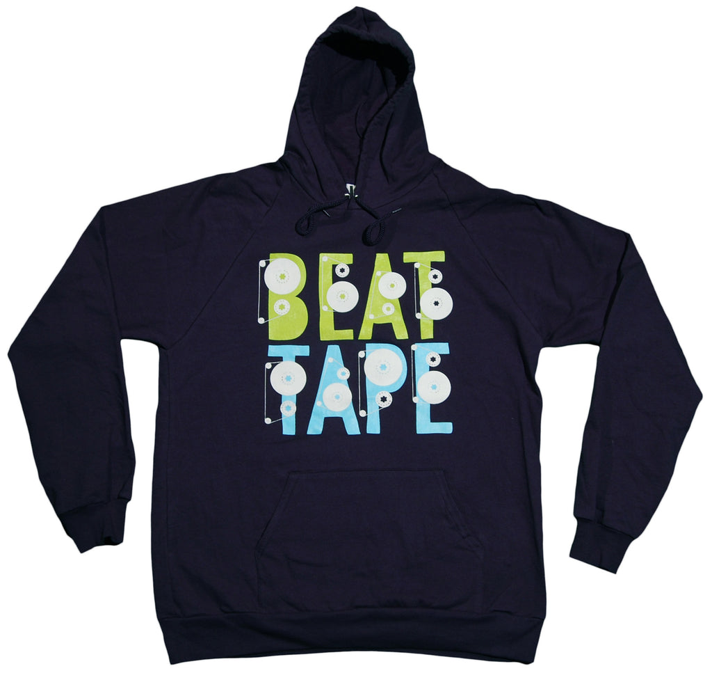 <!--2012011058-->101 Apparel - 'Beat Tape' [(Dark Blue) Hooded Sweatshirt]