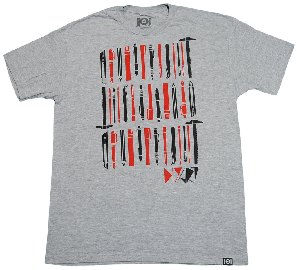 <!--2013021931-->101 Apparel - 'DIY Art' [(Gray) T-Shirt]