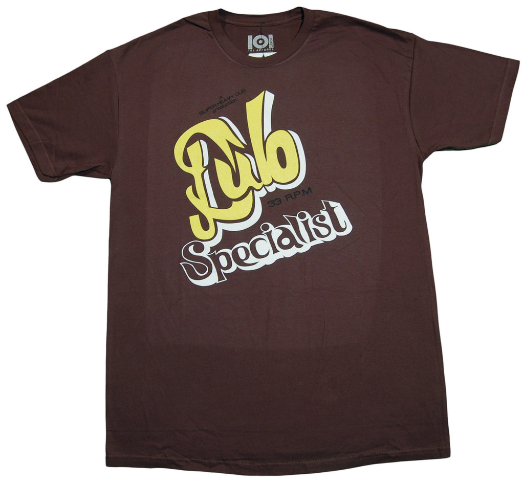 <!--2013021917-->101 Apparel - 'Dub Specialist' [(Brown) T-Shirt]