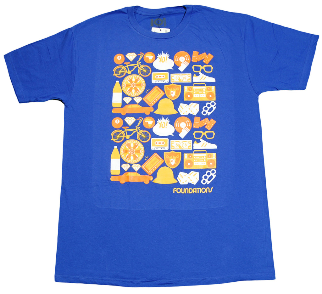 <!--2012071700-->101 Apparel - 'Foundations' [(Blue) T-Shirt]