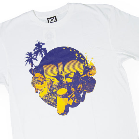 101 Apparel x Fuse Green - 'Fuse Rio' [(White) T-Shirt]