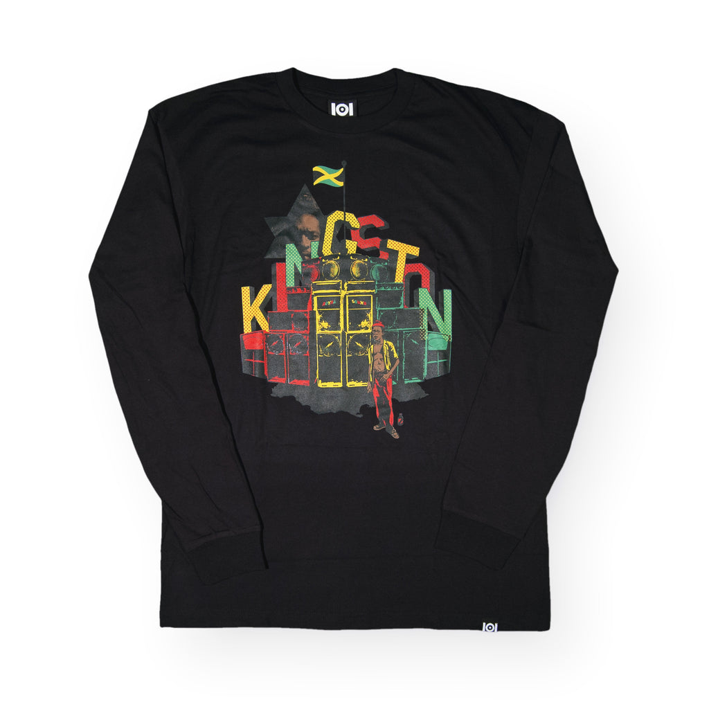 <!--020160713073598-->101 Apparel x Fuse Green - 'Fuse Kingston' [(Black) Long Sleeve Shirt]