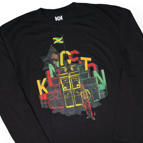 101 Apparel x Fuse Green - 'Fuse Kingston' [(Black) Long Sleeve Shirt]