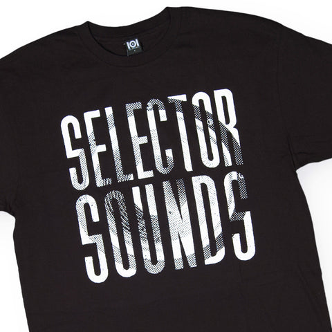 101 Apparel - 'Selector Sounds' [(Black) T-Shirt]