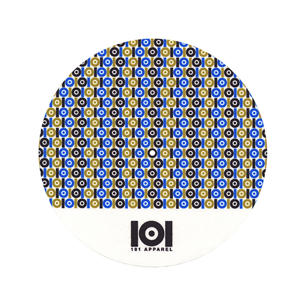 <!--020110329028956-->101 Apparel - 'Logo Pattern' [(White) Slipmat]