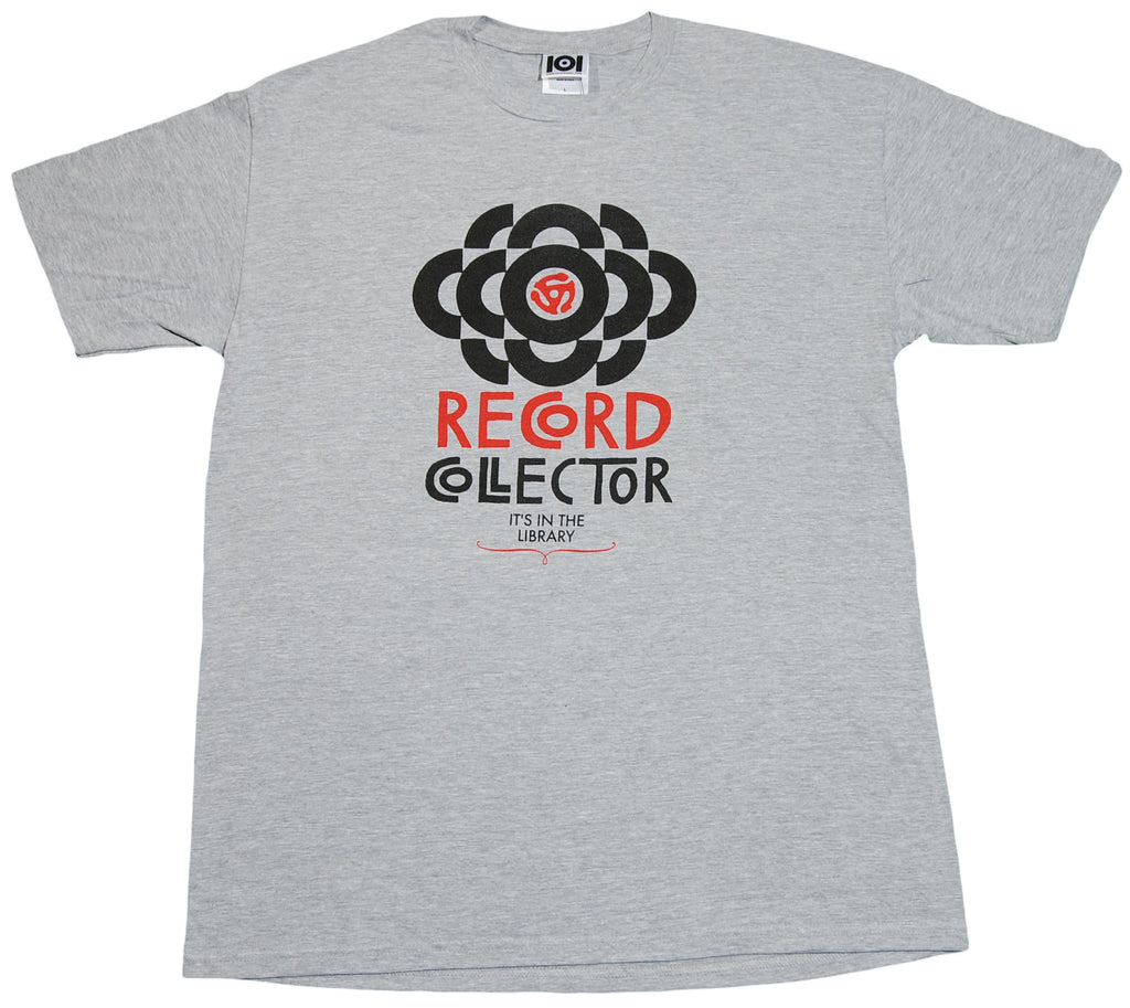 <!--2012011030-->101 Apparel - 'Record Collector' [(Gray) T-Shirt]