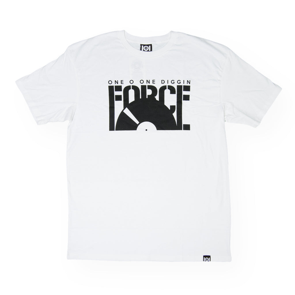 <!--020160713073637-->101 Apparel - 'Diggin Force' [(White) T-Shirt]