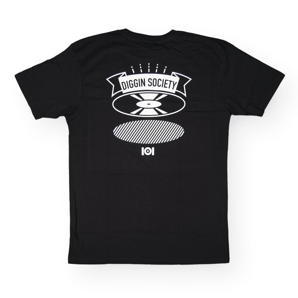<!--020160713073608-->101 Apparel - 'Diggin Badge' [(Black) T-Shirt]