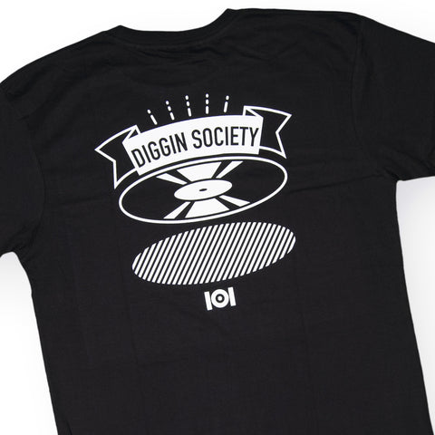 101 Apparel - 'Diggin Badge' [(Black) T-Shirt]