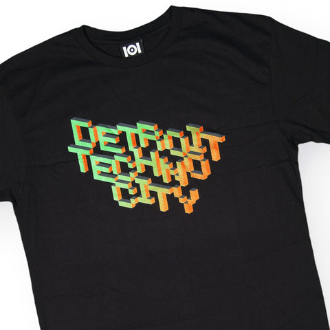 101 Apparel - 'Detroit Techno City' [(Black) T-Shirt]
