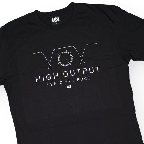 101 Apparel x Lefto & J. Rocc - 'High Output' [(Black) T-Shirt]