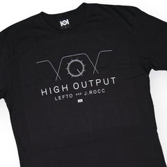 <!--020160713073586-->101 Apparel x Lefto & J. Rocc - 'High Output' [(Black) T-Shirt]