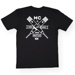 <!--020160713073605-->101 Apparel - 'MC Badge' [(Black) T-Shirt]