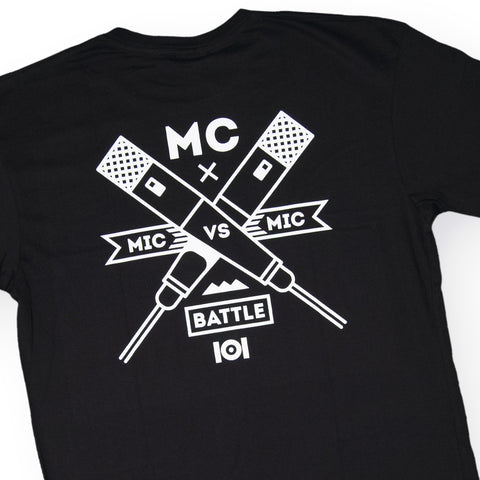 101 Apparel - 'MC Badge' [(Black) T-Shirt]
