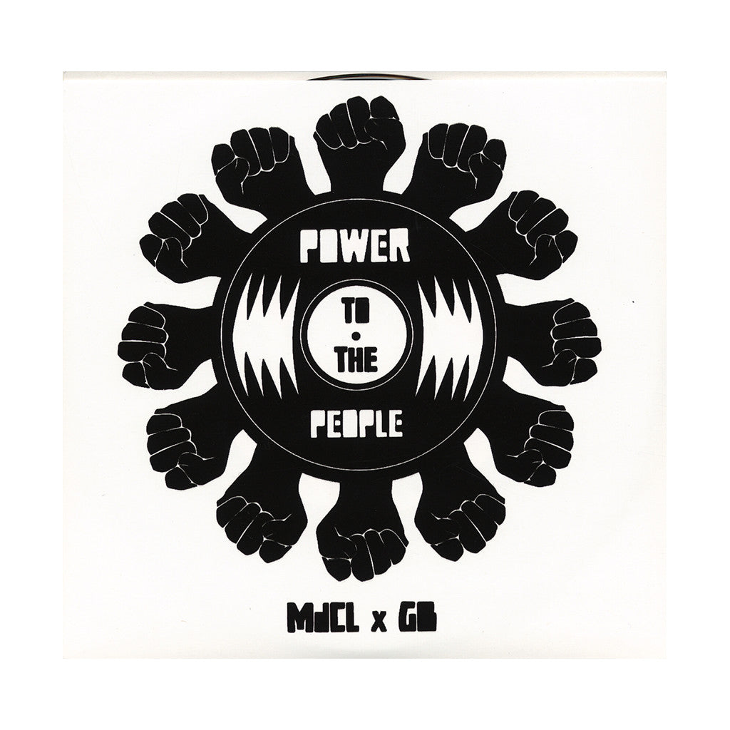 "Mark de Clive-Lowe b/w GB (101 Apparel Presents) - 'Power To The People: Temptation (MdCL Remix) b/w Black Narcissus' [(Black) 7"" Vinyl Single]"
