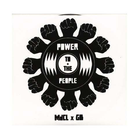 "[""Mark de Clive-Lowe b/w GB (101 Apparel Presents) - 'Power To The People: Temptation (MdCL Remix) b/w Black Narcissus' [(Black) 7\"" Vinyl Single]""]"