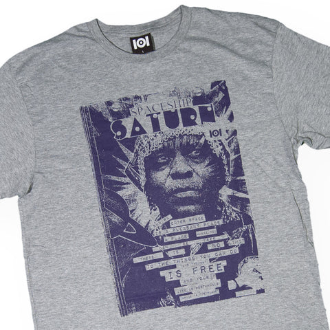 101 Apparel - 'Saturn' [(Gray) T-Shirt]