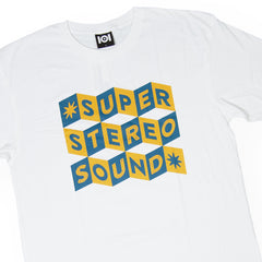 <!--020160713073621-->101 Apparel - 'Super Stereo' [(White) T-Shirt]